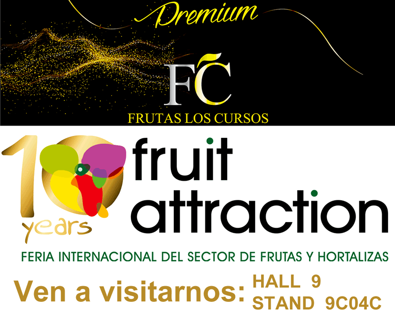 Frutas Los Cursos en Fruit Attraction 2018